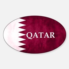 QATAR COUNTRY FLAG Decal