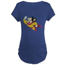 Vintage Mighty Mouse Maternity T-Shirt
