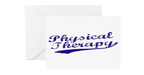 Physical Therapy Greeting Cards (Pk of 10)