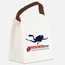 RESCUEDiver Canvas Lunch Bag