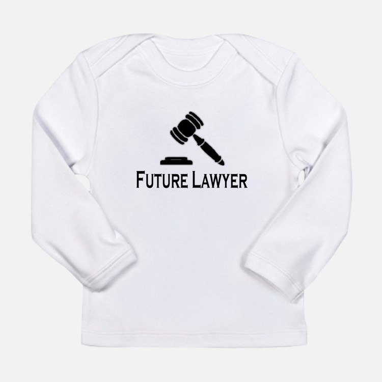 """Future Lawyer"" Long Sleeve T-Shirt"