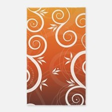 Floral Colorful Modern Trendy Pattern Ill Area Rug