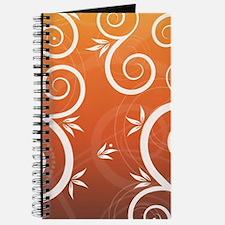 Floral Colorful Modern Trendy Pattern Illu Journal