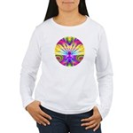 Cosmic Spiral 9 Women's Long Sleeve T-Shirt