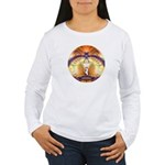 Cosmic Spiral 59 Women's Long Sleeve T-Shirt