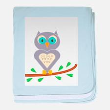 Owl Fun baby blanket