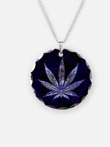 Hemp Leaf Art Necklace