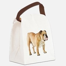 Cute English bulldog Canvas Lunch Bag
