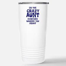 Unique Auntie to be Travel Mug