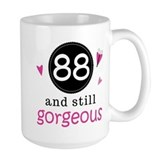 88th birthday Large Mugs (15 oz)