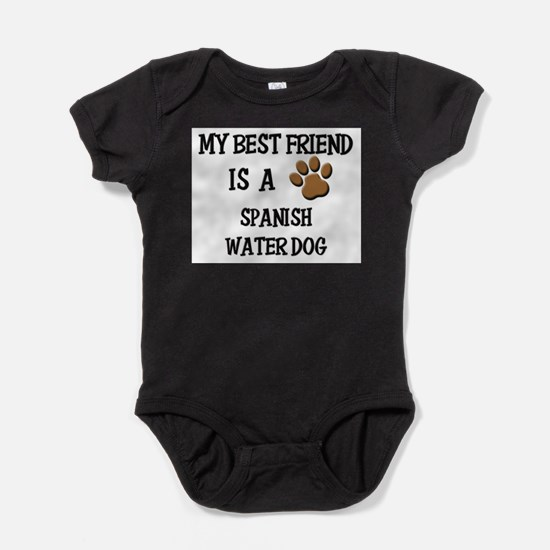 Cute Water dog Baby Bodysuit