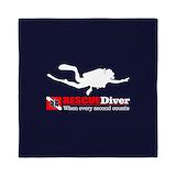 Dive flag Luxe Full/Queen Duvet Cover