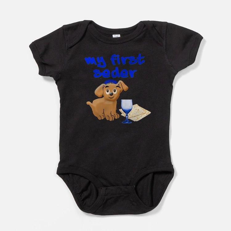 Cute Passover Baby Bodysuit