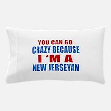 I Am New Jerseyan Pillow Case