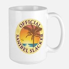 Sanibel Slacker - Large Mug