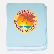 Sanibel Slacker - baby blanket