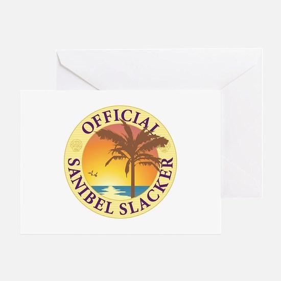 Sanibel Slacker - Greeting Card