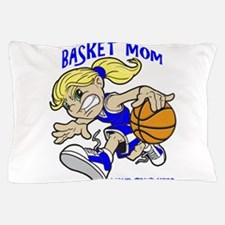 PERSONALIZED BASKET MOM Pillow Case
