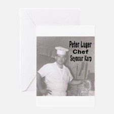 Chef Seymour Karp Greeting Cards