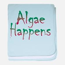 Algae Happens - baby blanket