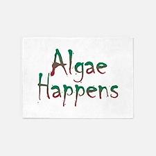 Algae Happens - 5'x7'Area Rug