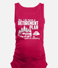 Unique Retirement Maternity Tank Top