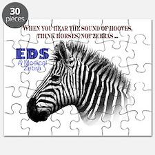 Unique Zebra print black white theinkbox Puzzle