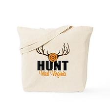 Hunt West Virginia Tote Bag
