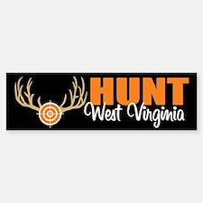 Hunt West Virginia Bumper Bumper Bumper Sticker