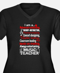 Music Teacher Plus Size T-Shirt