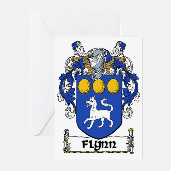 Flynn Coat of Arms Greeting Cards (Pk of 20)