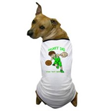 PERSONALIZED BASKET DAD Dog T-Shirt