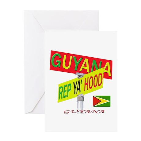 REP GUYANA Greeting Card