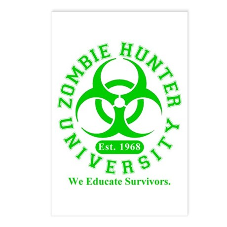 A Zombie Hunter University Postcards (Package of 8
