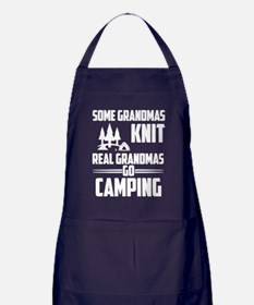 Cute Going grandma Apron (dark)