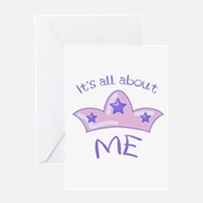 All About Me Greeting Card
