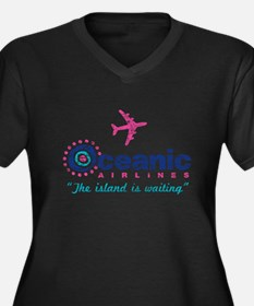Oceanic Airlines Plus Size T-Shirt