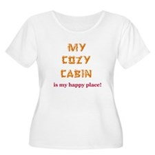 """My Cozy Cabin"" T-Shirt"