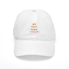 """My Cozy Cabin"" Baseball Cap"