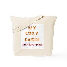 """My Cozy Cabin"" Tote Bag"