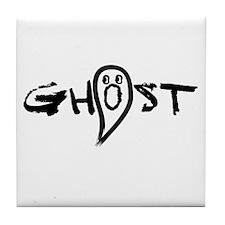 Ghost Tile Coaster