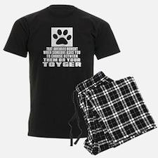 Awkward Toyger Cat Designs Pajamas