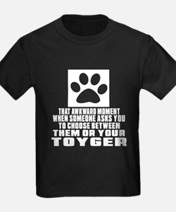Awkward Toyger Cat Designs T