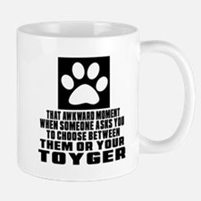 Awkward Toyger Cat Designs Mug