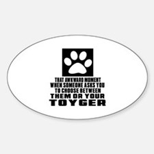 Awkward Toyger Cat Designs Decal