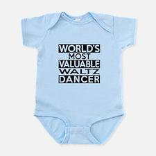 World's Most Valuable Waltz Dancer Infant Bodysuit