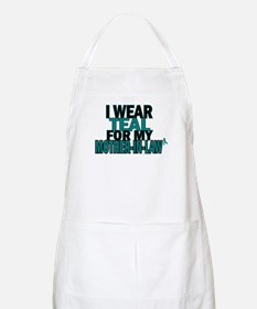 I Wear Teal For My Mother-In-Law 5 BBQ Apron
