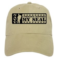 Proudly Support Seal - NAVY Baseball Cap
