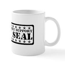 Proudly Support Seal - NAVY Mug