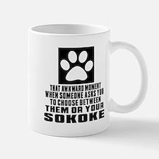 Awkward Sokoke Cat Designs Mug